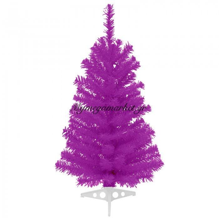 Χριστουγεννιάτικο δέντρο σε μώβ χρώμα 60 cm | Mymegamarket.gr