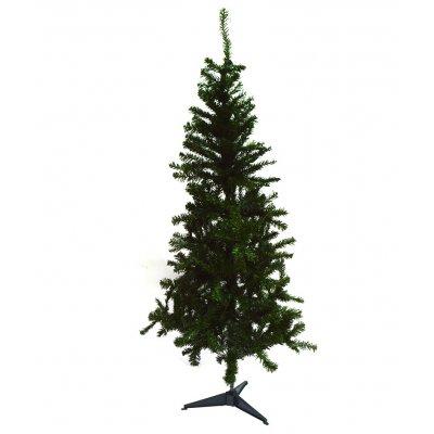 Δέντρο χριστουγεννιάτικο πράσινο με πλαστική βάση 150 cm