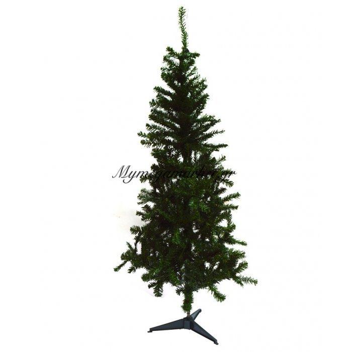 Δέντρο χριστουγεννιάτικο πράσινο με πλαστική βάση 90 cm | Mymegamarket.gr