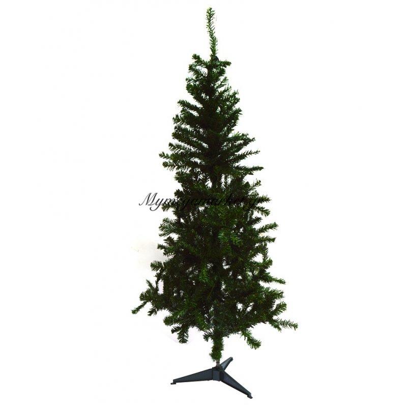 Δέντρο χριστουγεννιάτικο πράσινο με πλαστική βάση 90 cm