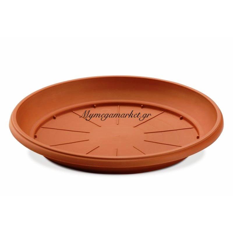 Δίσκος γλάστρας σε καφέ χρώμα 48 cm
