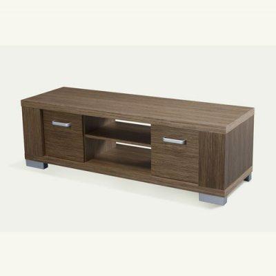 Έπιπλο τηλεόρασης ξύλινο καφέ Nava