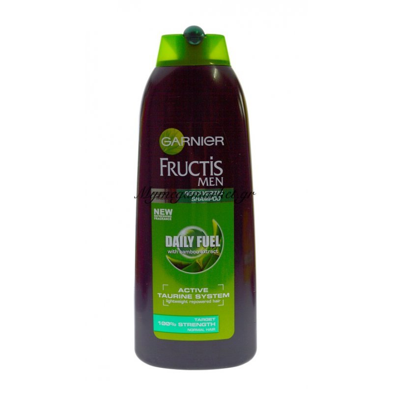 Garnier Fructis Men-Daily Fuel With bamboo Extract (400ml) by Mymegamarket.gr