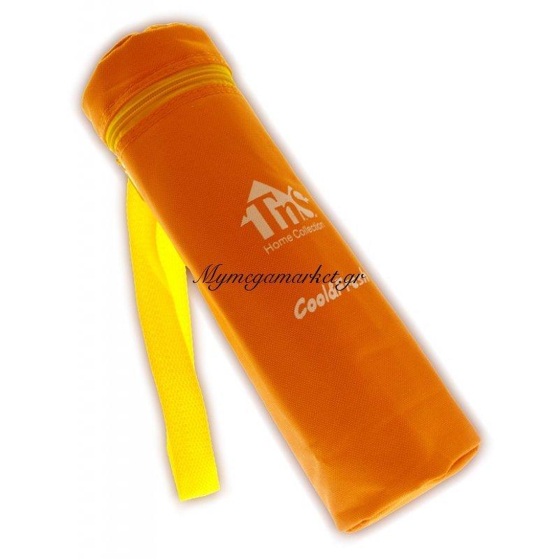 Ισοθερμική τσάντα για μπουκάλι TNS πορτοκαλί χρώμα