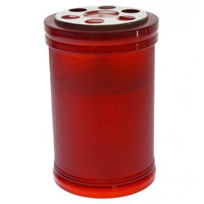 Κερι led μπαταρίας πλαστικό αμμοβολής 10 x 7,5 cm