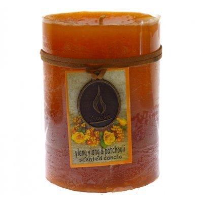 Κερί Lumiere επιτραπέζιο με άρωμα πατσουλί & Ylang 10 x 6,8 cm