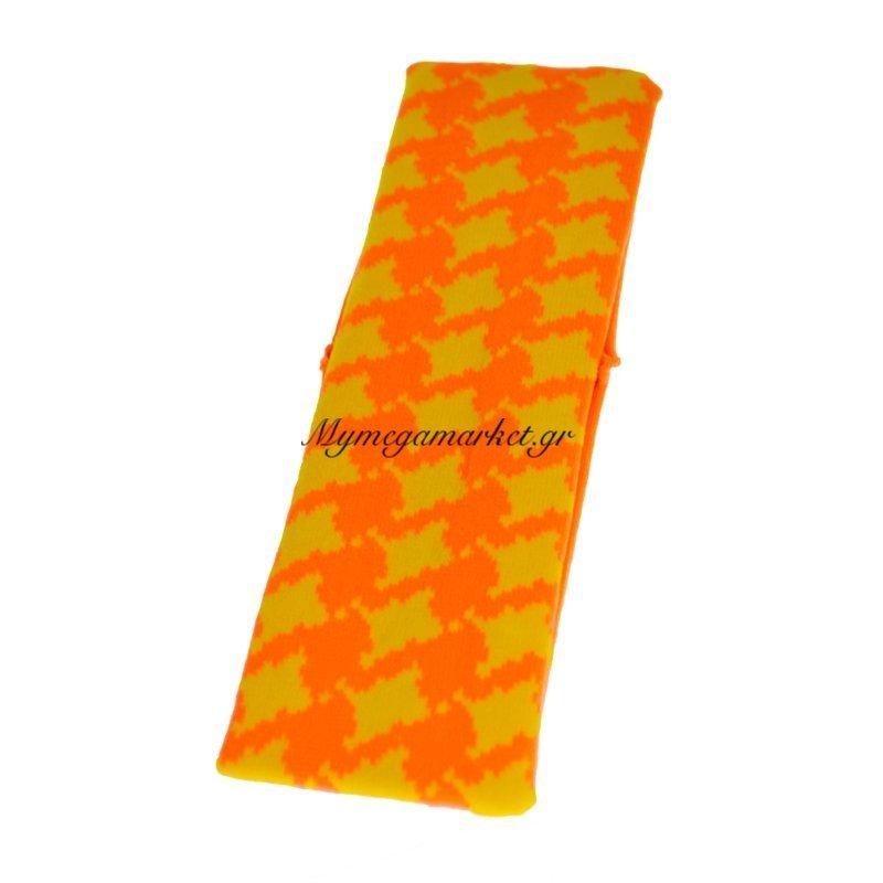 Κορδέλα μαλλιών ελαστική σε πορτοκαλί - κίτρινο χρώμα Στην κατηγορία Πιάστρες μαλλιών - κλάμερ   Mymegamarket.gr