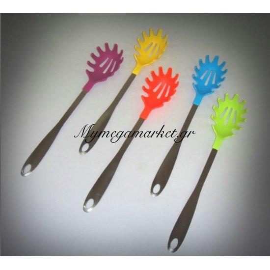 Κουτάλα μακαρονιών πλαστική με ανοξείδωτο χάλυβα Στην κατηγορία Εργαλεία μαγειρικής | Mymegamarket.gr