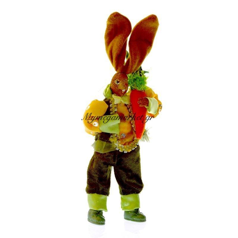 Λαγός με πράσινη φορεσιά & καρότο με ευλύγιστα πόδια