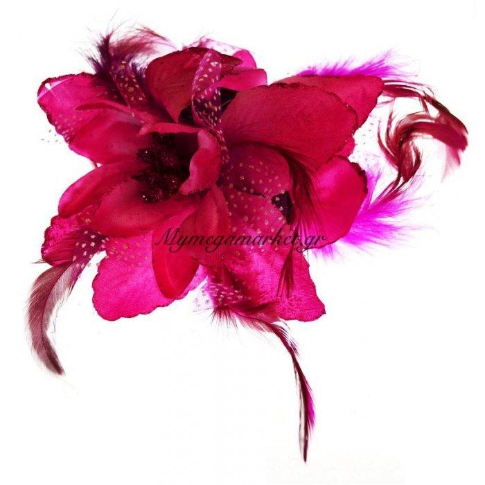 Λουλούδι κλάμερ σε φούξια χρώμα | Mymegamarket.gr