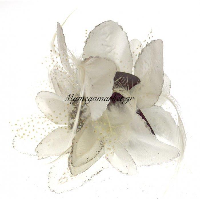 Λουλούδι κλάμερ σε λευκό χρώμα | Mymegamarket.gr
