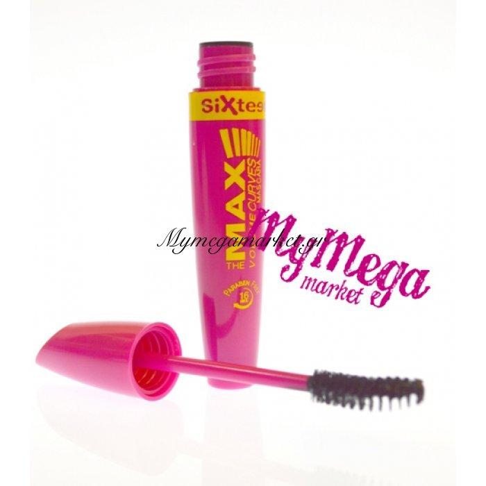 Μάσκαρα Sixteen cosmetics no 295 black | Mymegamarket.gr