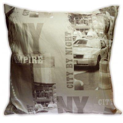 Μαξιλάρι διακοσμητικό σχέδιο NEW YORK 45x 45 cm