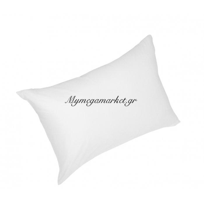 Μαξιλάρι ύπνου ανατομικό αντιαλλεργικό, 100% σιλικόνης πολυεστέρας σε λευκό χρώμα 45 x 65 cm | Mymegamarket.gr