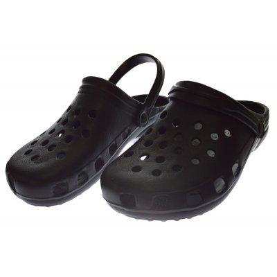 Παπούτσι θαλάσσης εφηβικό σε μαύρο χρώμα