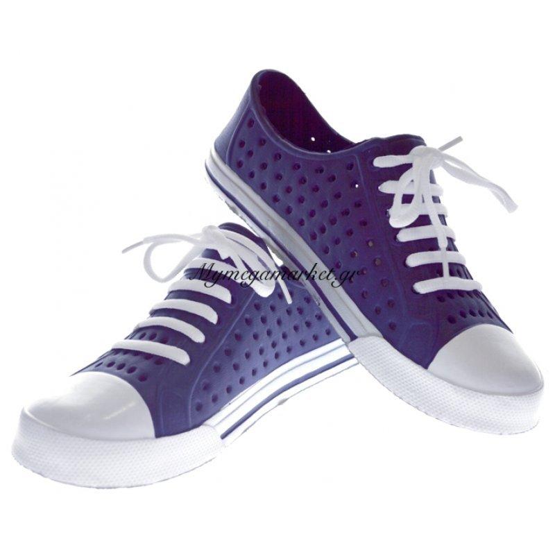 Παπούτσι θαλάσσης κλειστό εφηβικό σε μπλέ χρώμα