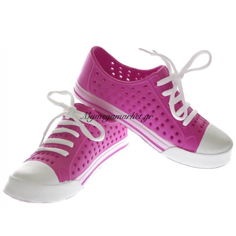 Παπούτσι θαλάσσης κλειστό γυναικείο σε ρόζ χρώμα