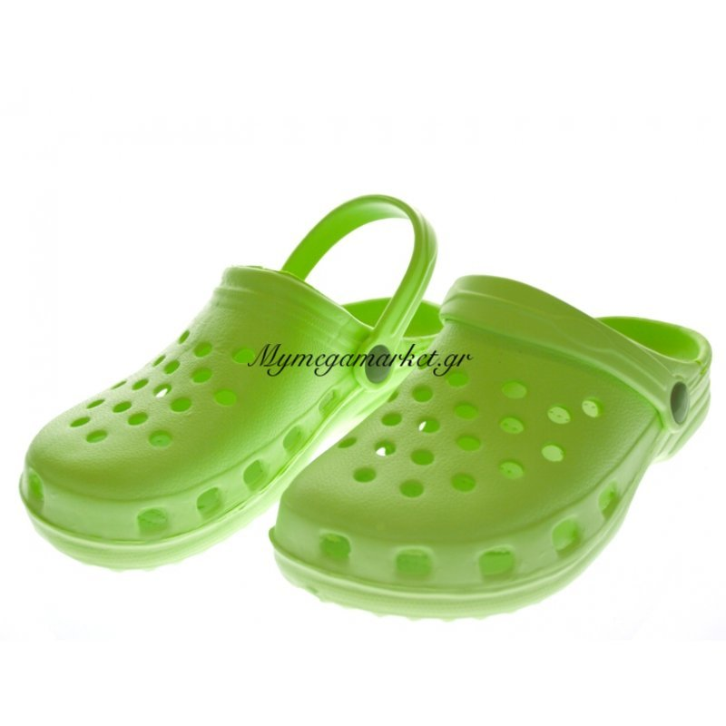 Παπούτσι θαλάσσης παιδικό σε λαχανί χρώμα