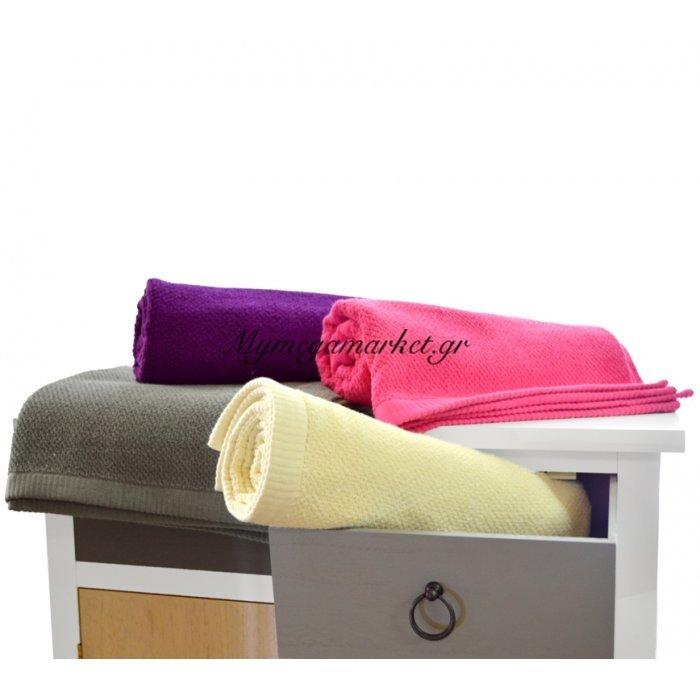 Πετσέτα μπάνιου σε 4 χρώματα 500 γραμμαρίων | Mymegamarket.gr