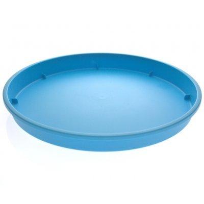 Πιάτο γλάστρας Linea χρώμα κυανό σε 4 διαστάσεις