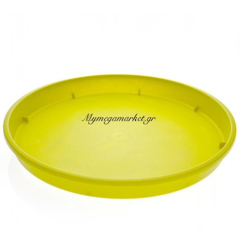 Πιάτο γλάστρας Linea χρώμα λαχανί σε 4 διαστάσεις
