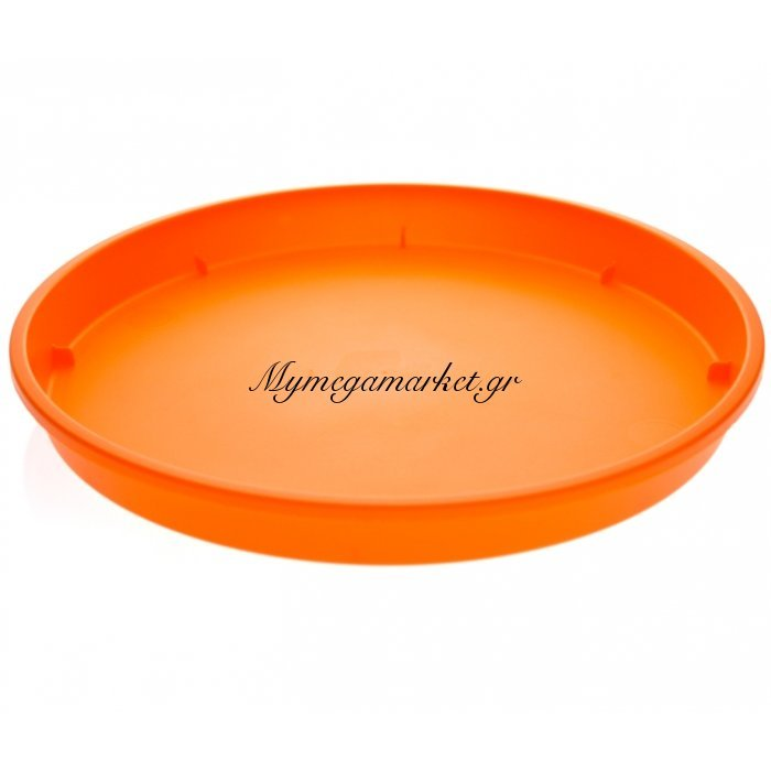 Πιάτο γλάστρας Linea χρώμα πορτοκαλί σε 4 διαστάσεις | Mymegamarket.gr