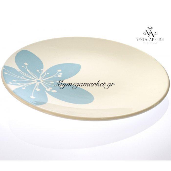 Πιάτο ρηχό Settia blue-Vista alegre/τεμ. | Mymegamarket.gr