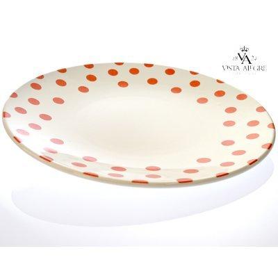 Πιάτο ρηχό Spot red-Vista alegre/τεμ.