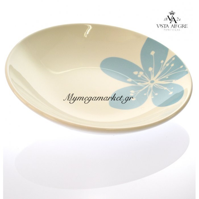Πιάτο βαθύ Settia blue-Vista alegre/τεμ. | Mymegamarket.gr