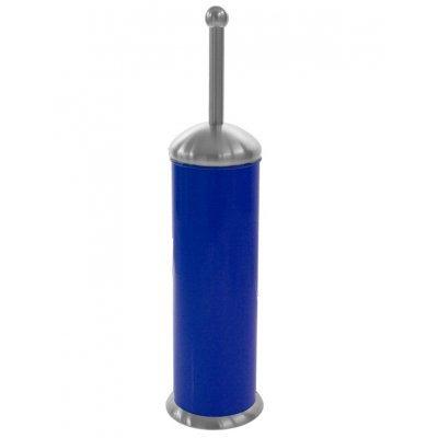 Πιγκάλ μπάνιου σε μπλέ χρώμα και ανοξείδωτες λεπτομέρειες