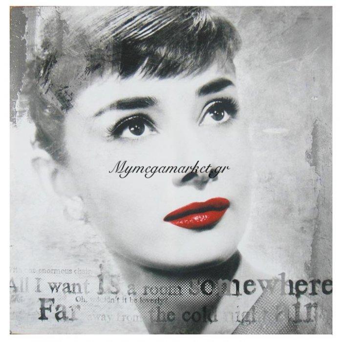 Πίνακας καμβάς τυποποιημένος κοπέλα | Mymegamarket.gr
