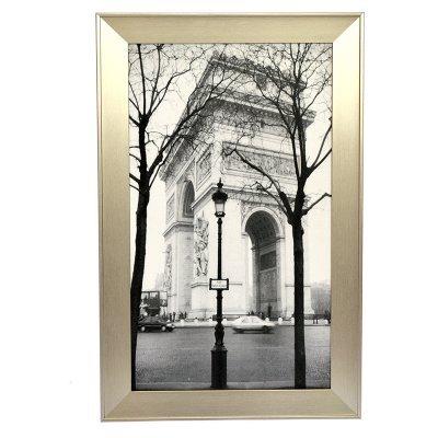 Πίνακας ξύλινος με κορνίζα με θέμα Ηλύσια Πεδία Παρισιού