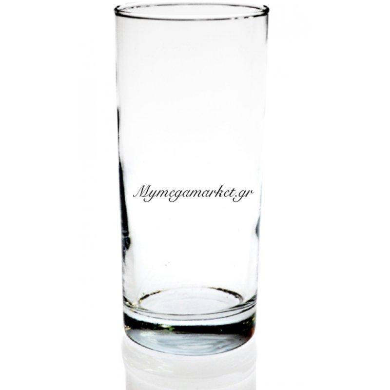 Ποτήρι γυάλινο διάφανο τεμ.