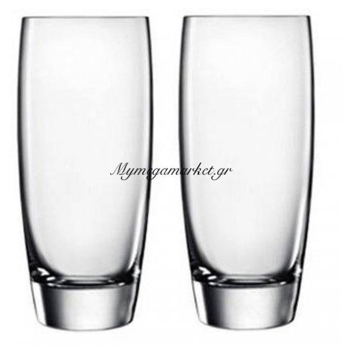 Ποτήρι νερού-αναψυκτικού Gourmet Luigi Bormioli σέτ 2 τεμαχίων   Mymegamarket.gr