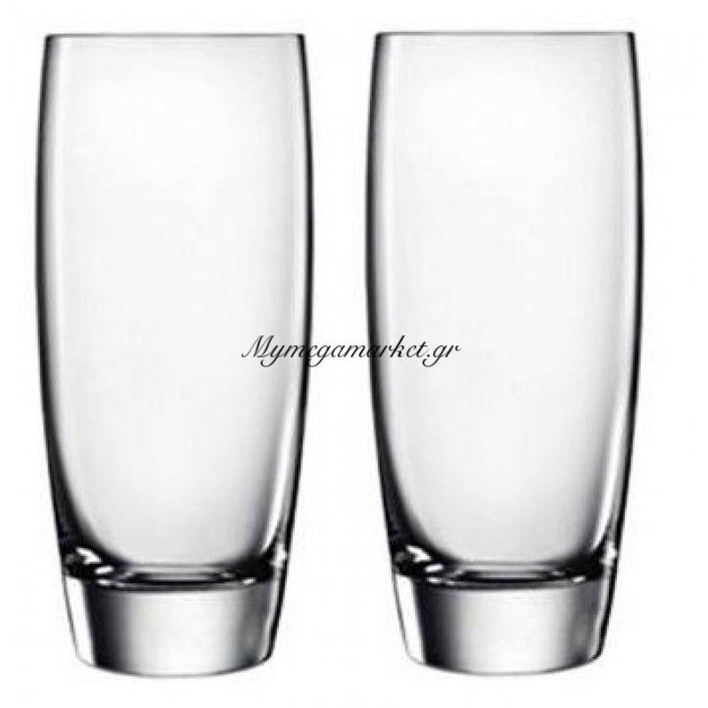 Ποτήρι νερού-αναψυκτικού Gourmet Luigi Bormioli σέτ 2 τεμαχίων