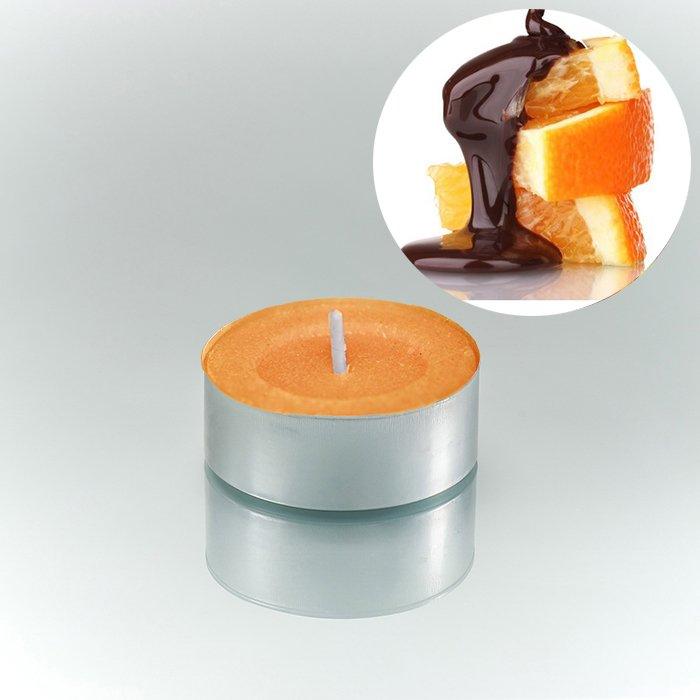 Ρεσώ κερί σέτ 25 τεμαχίων με άρωμα πορτοκαλίου 4 εώς 5 ωρών | Mymegamarket.gr