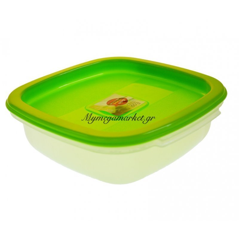 2e2ed903816 Τάπερ οικολογικό λούξ μικρό με λαχανί καπάκι | Mymegamarket.gr
