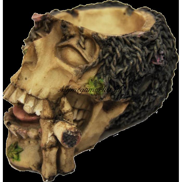 Τασάκι κεραμικό νεκροκεφαλή - LG68-2 | Mymegamarket.gr