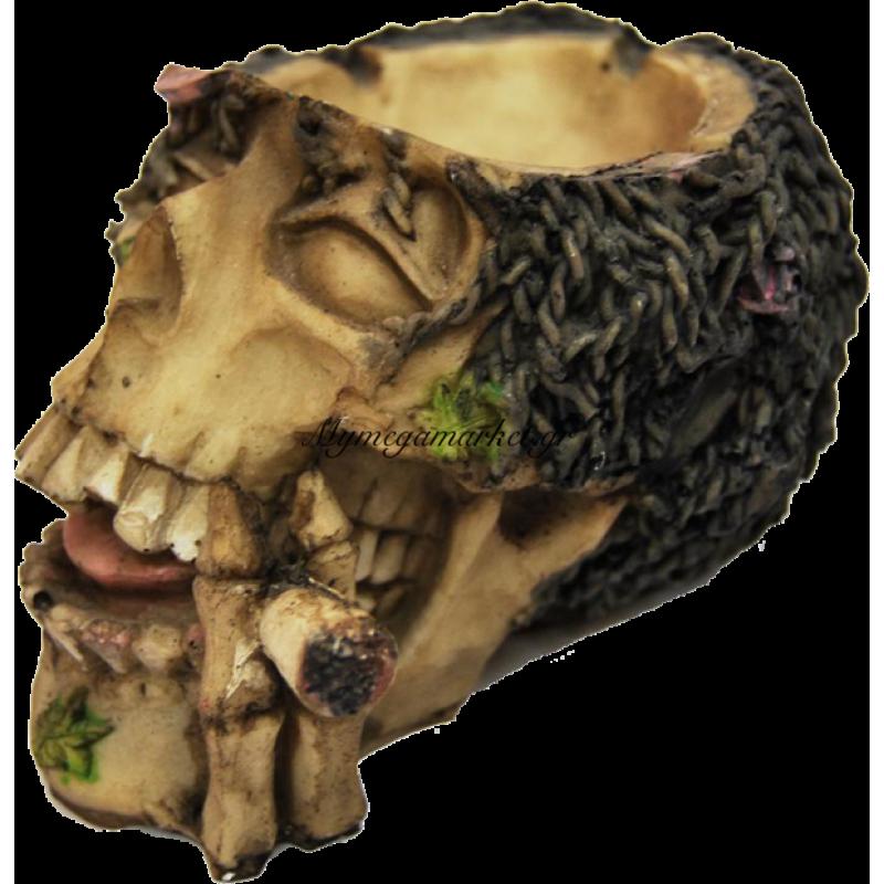 Τασάκι κεραμικό νεκροκεφαλή - LG68-2