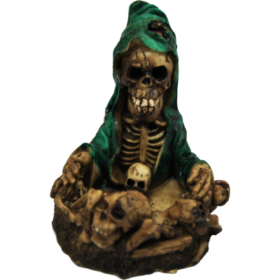 Τασάκι κεραμικό νεκροκεφαλή πράσινο