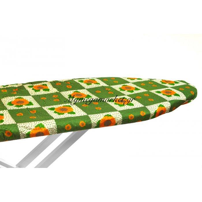 Σιδερόπανο με λάστιχο με σχέδιο μαργαρίτες | Mymegamarket.gr