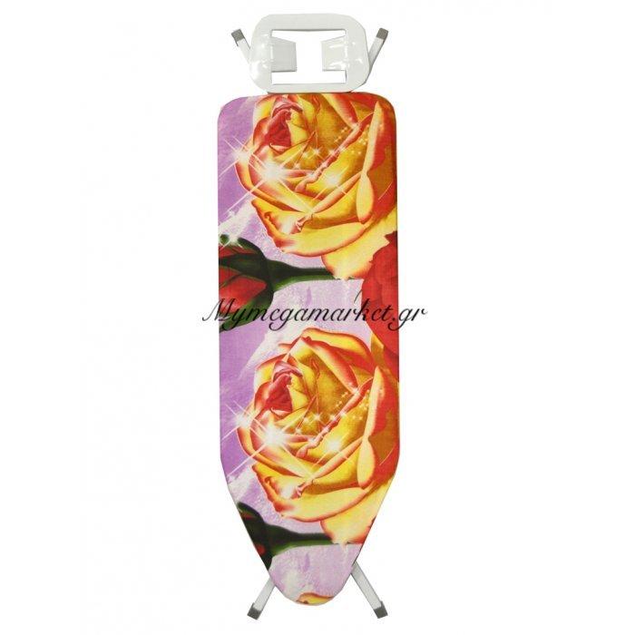 Σιδερώστρα ατμού - μώβ σιδερόπανο με τριαντάφυλλα - IBORD/4815 - Tns | Mymegamarket.gr