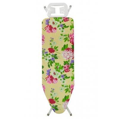 Σιδερώστρα ατμού - μπέζ σιδερόπανο με λουλούδια - IBORD/4815 - Tns