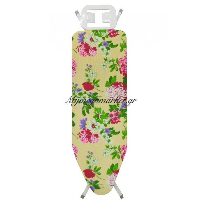Σιδερώστρα ατμού - μπέζ σιδερόπανο με λουλούδια - IBORD/4815 - Tns | Mymegamarket.gr