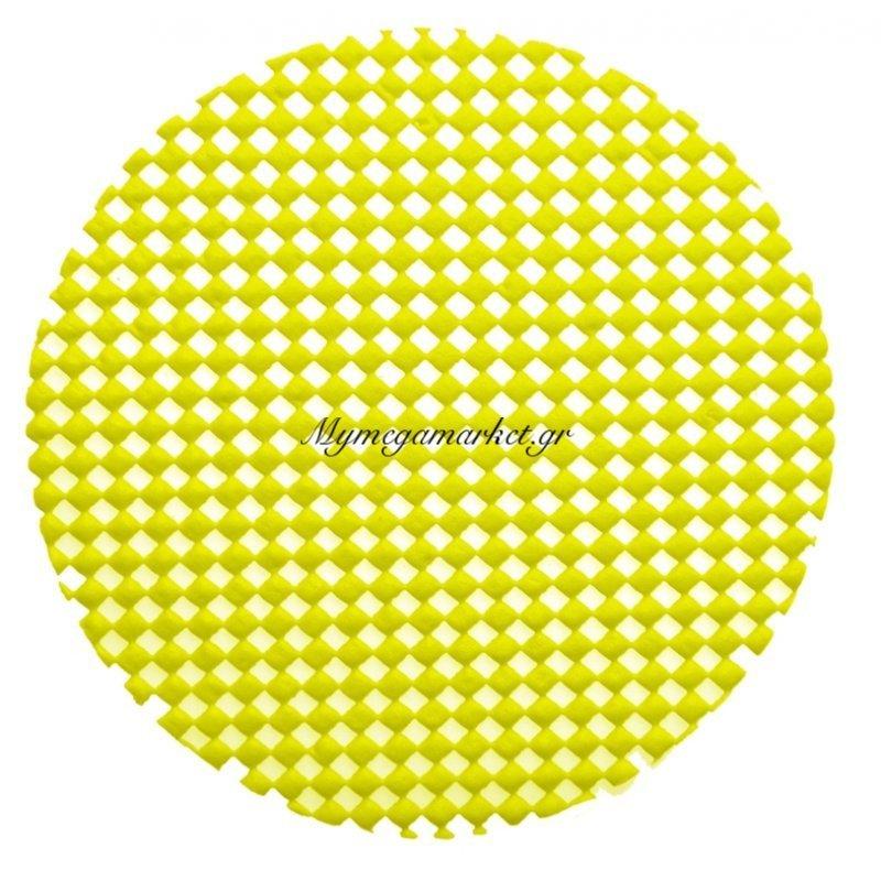 Σουβέρ αντιολισθητικό - Σέτ 6 τεμαχίων - Κίτρινο