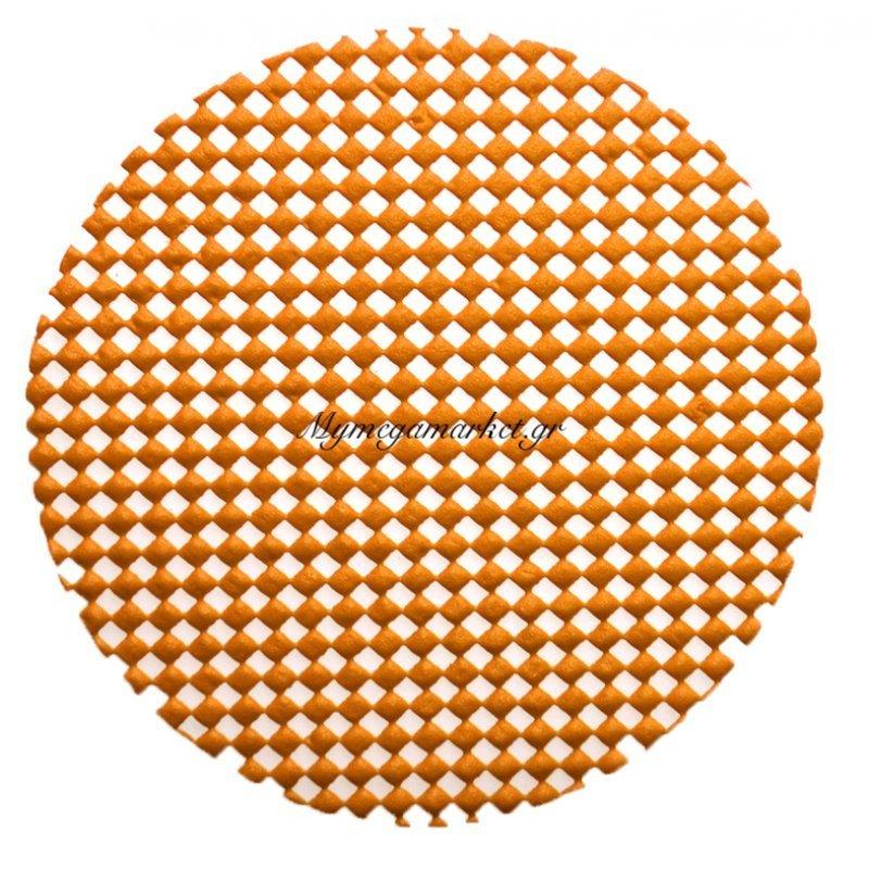 Σουβέρ αντιολισθητικό - Σέτ 6 τεμαχίων - Πορτοκαλί