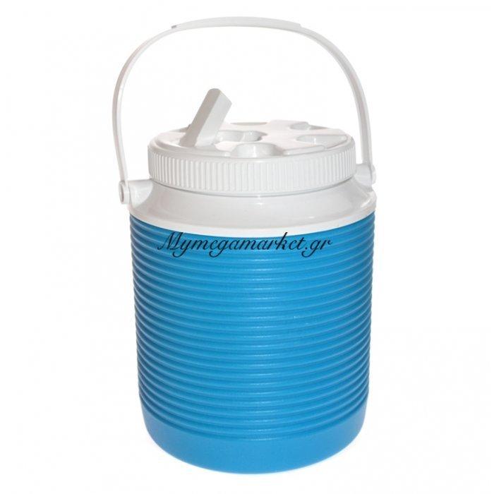 Θερμό - Water Cool με βρυσάκι + στόμιο - 2 λίτρων - Γαλάζιο | Mymegamarket.gr