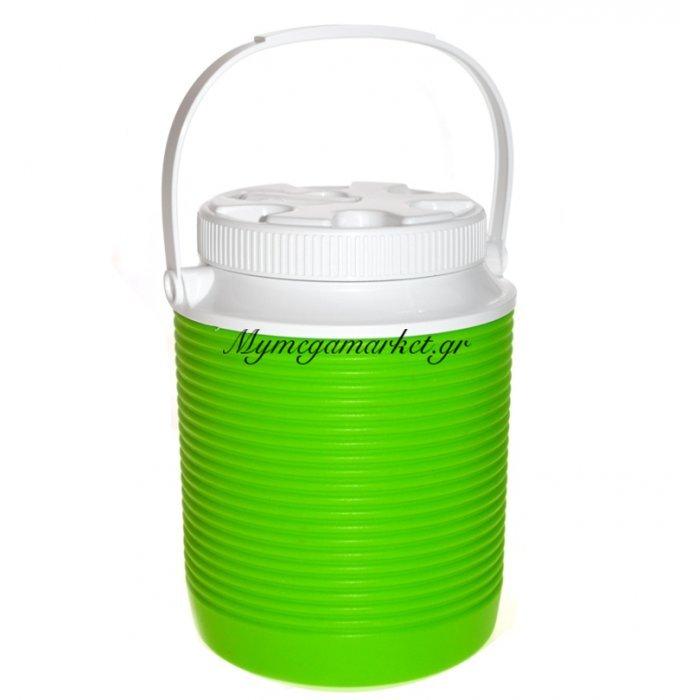 Θερμό - Water Cool με βρυσάκι + στόμιο - 2 λίτρων - Πράσινο | Mymegamarket.gr