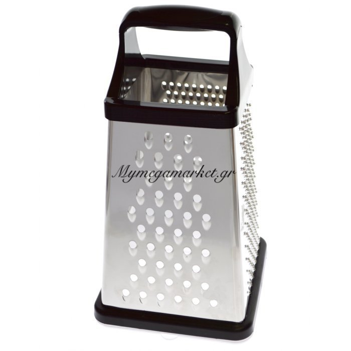 Τρίφτης τετράγωνος - Stainless Steel - Με αποθηκευτικό χώρο - Nava | Mymegamarket.gr