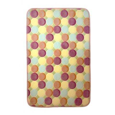 Χαλάκι - Microfiber - Αφροδίτη - Κύκλους - 45 x 70 cm